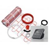 Zestaw mata grzejna 2,0 m² 340W jednostronnie zasilana + regulator TVT 30 CS