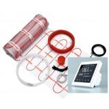 Zestaw mata grzejna 2,0 m² 340W jednostronnie zasilana + regulator TVT 30 BB